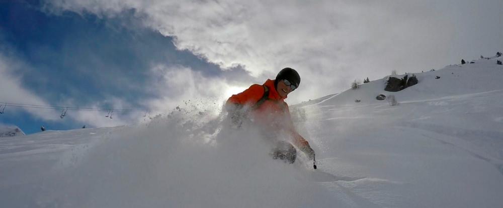 ski guiding in Anniviers Grimentz powder