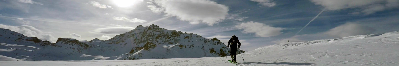 Ski guiding in Anniviers Becs de Bosson
